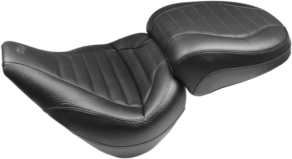MUSTANG Passenger Touring Seat - FXBR Passenger Tour Seat — Compatible with Drivers Backrest - Team Dream Rides