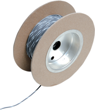 Load image into Gallery viewer, NAMZ 100' Wire Spool - 18 Gauge - Gray/White OEM Color Wire Spool