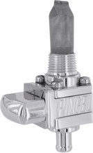 "Load image into Gallery viewer, PINGEL The Guzzler® Fuel Valve - Polished - 3/8"" NPT - Single - 6AN The Guzzler® Fuel Valve - Team Dream Rides"