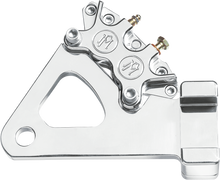 "Load image into Gallery viewer, PERFORMANCE MACHINE (PM) Caliper - Rear - Chrome - Rigid Frame 10"" Caliper Kit - Team Dream Rides"