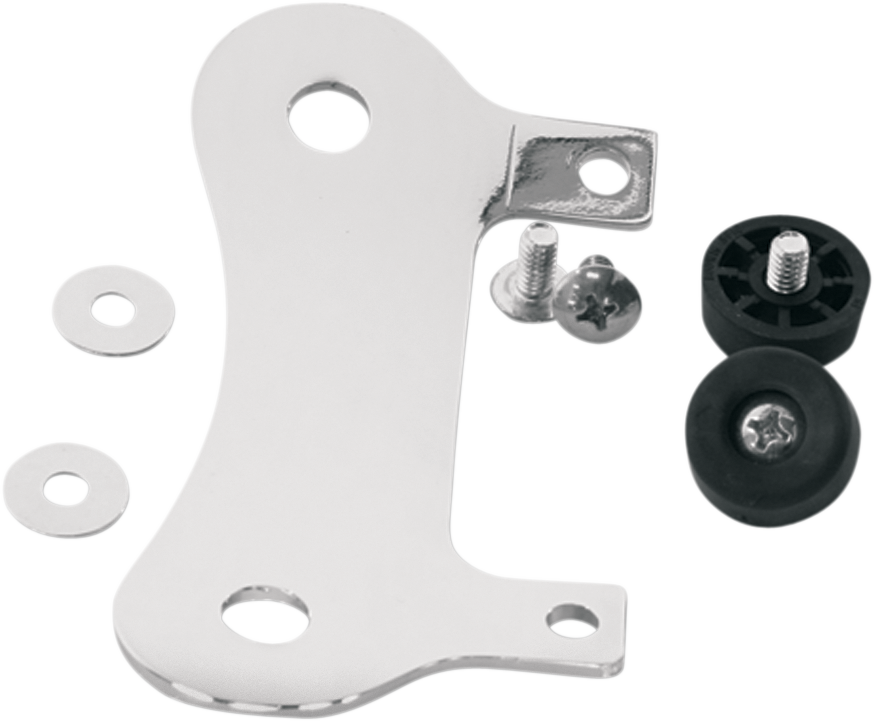 MUSTANG Solo Seat Mount - FLST Stud Plate Mounting Kit - Team Dream Rides