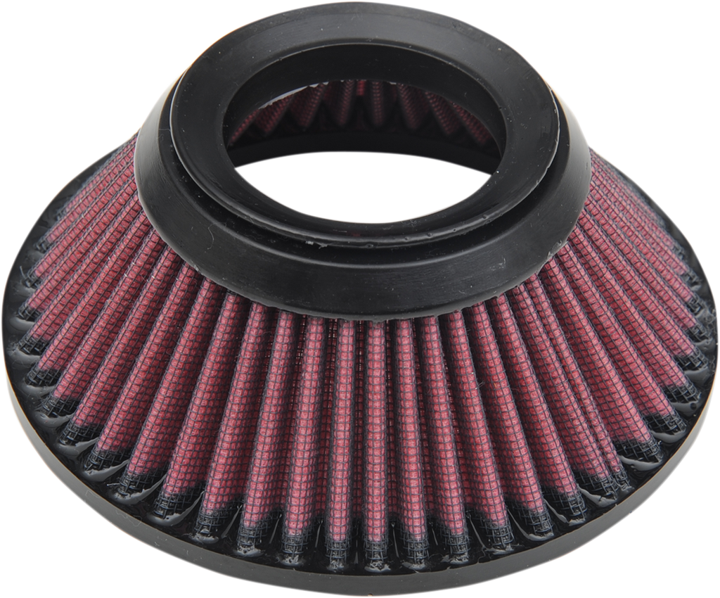 PERFORMANCE MACHINE (PM) Air Filter Replacement for Max HP Air Cleaners Max Hp Air Cleaner Replacement Filter - Team Dream Rides