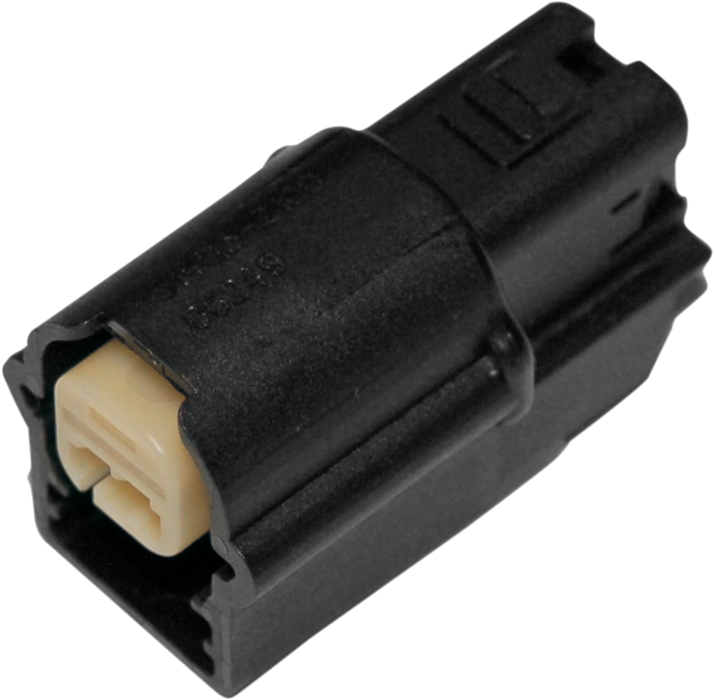 NAMZ Molex Mini Connector 72720-07 - 2 Pin Female - Black OEM-Type Connector — Wiring Connector - Team Dream Rides