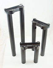 "Load image into Gallery viewer, Bung King One Piece Lower Handlebar Riser 8"" with internal wiring holes - Team Dream Rides"