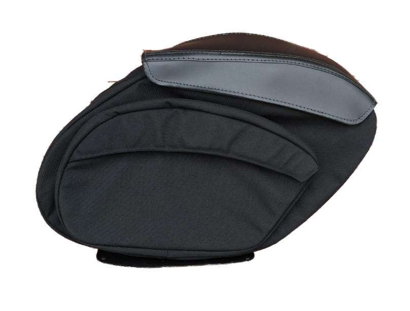 Retro Series V3 FXR Saddlebags - Team Dream Rides