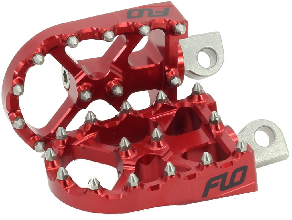 FLO MOTORSPORTS V3 FOOT PEGS FOR HARLEY DAVIDSON / DYNA / CUSTOM CHOPPER - Team Dream Rides