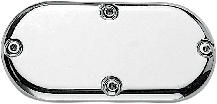 PRO-ONE PERF.MFG. Milled Solid Billet Inspection Cover Chrome Billet Inspection Cover - Team Dream Rides