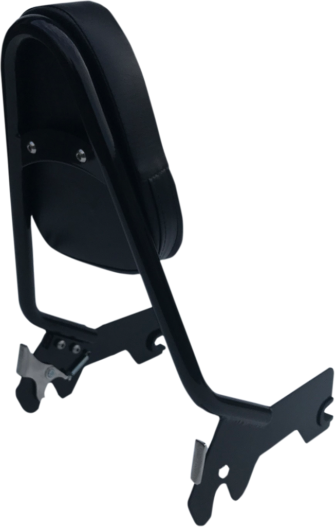 MOTHERWELL Quick-Release Backrest - Gloss Black Quick-Release Backrest - Team Dream Rides