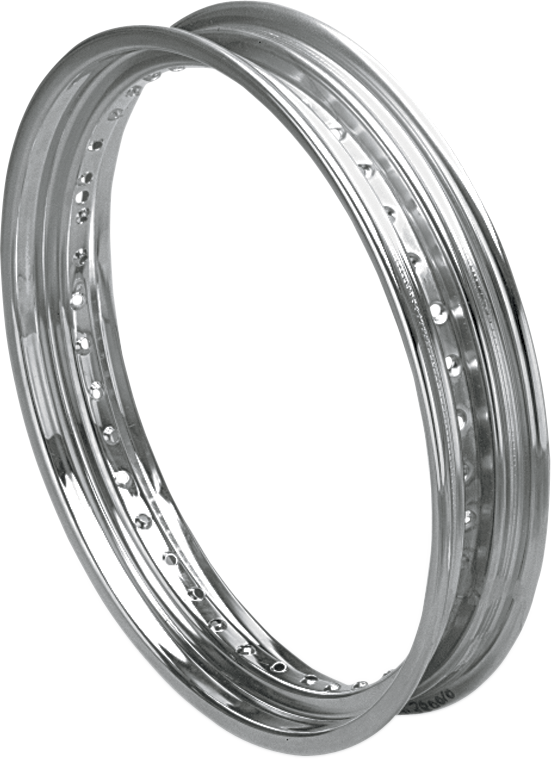 "DRAG SPECIALTIES Front Rim - Drop-Center - 2.50"" x 19"" - 40 Hole Rolled Edge Front Rim"