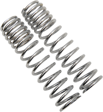 Load image into Gallery viewer, PROGRESSIVE SUSPENSION Shock Springs - 12-Series - Chrome - 105-150 lb/in 12  Series Shock Springs