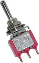 "Load image into Gallery viewer, NAMZ Mini Switch -  5A Air Ride 1/4"" Mini Toggle Switch - Team Dream Rides"