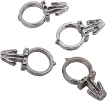 "Load image into Gallery viewer, DRAG SPECIALTIES Handlebar Wiring Kit - 1/2"" - 4PK Handlebar Wiring Clips"
