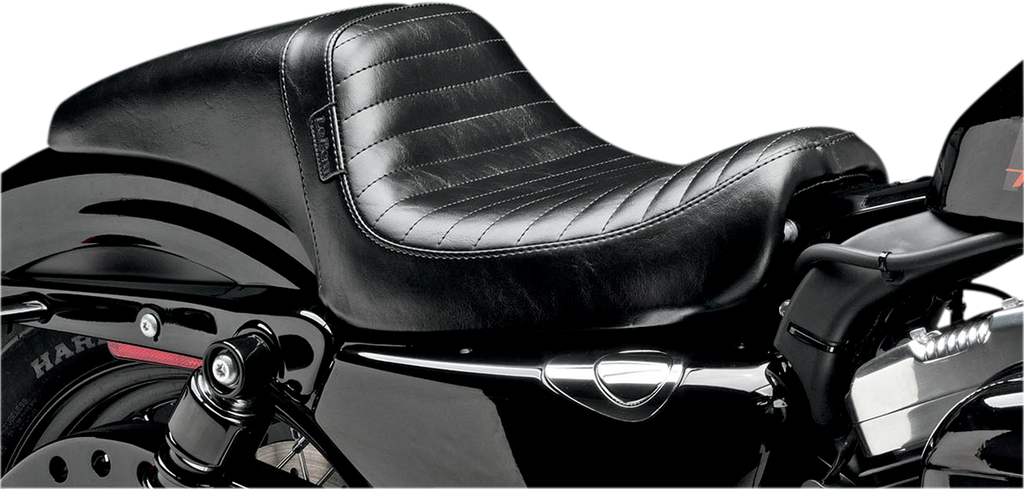 LE PERA Daytona Seat - Pleated - XL '10-'19 Daytona 2-Up Seat - Team Dream Rides