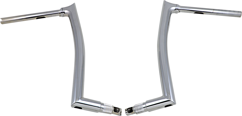 "FAT BAGGERS INC. 16"" Chrome 1-1/2"" Pointed Top Handlebar 1-1/2"" EZ Install Pointed Top Handlebar - Team Dream Rides"