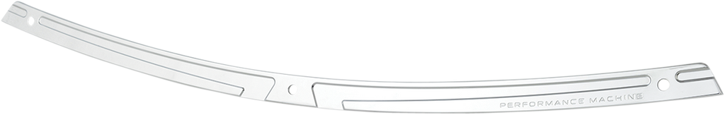 PERFORMANCE MACHINE (PM) Windshield Trim - Scallop - Chrome - FL '14+ Windscreen Trim — Scallop