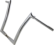 "Load image into Gallery viewer, FAT BAGGERS INC. 16"" Chrome 1-1/2"" Pointed Top Handlebar 1-1/2"" EZ Install Pointed Top Handlebar - Team Dream Rides"