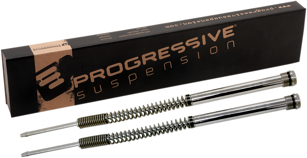 PROGRESSIVE SUSPENSION Monotube Fork Cartridge Kit - Standard Monotube Cartridge Fork Kit - Team Dream Rides