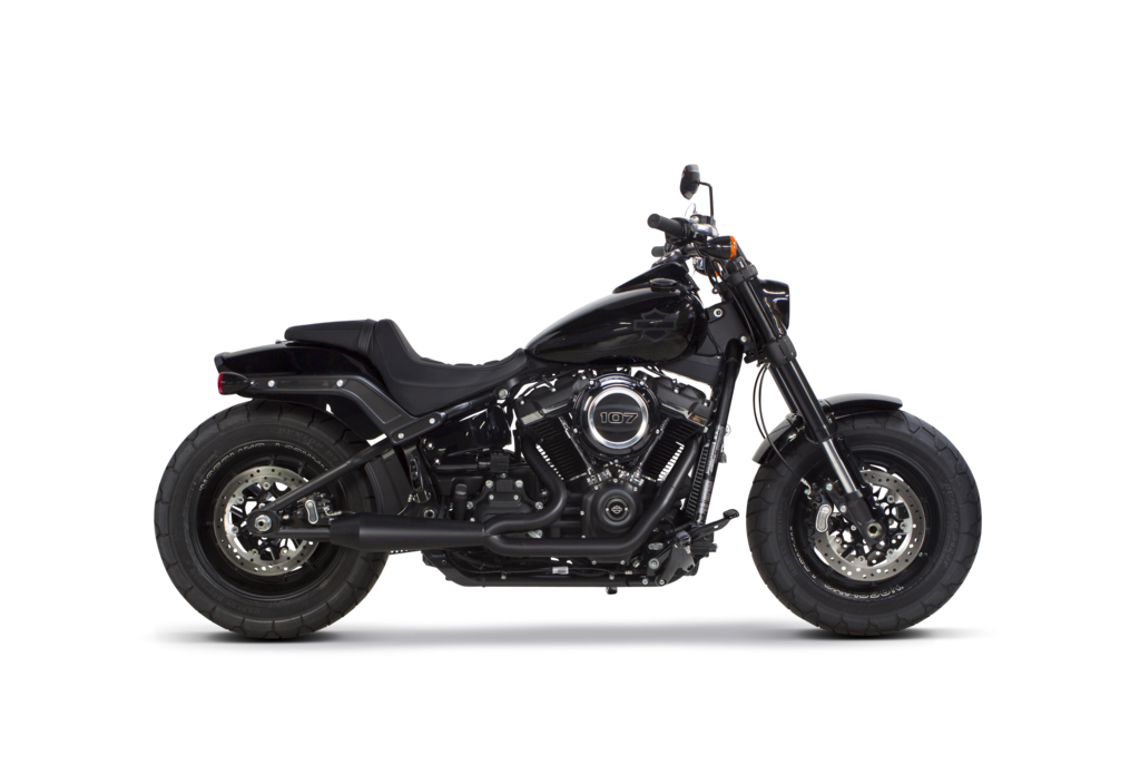 Two Brothers Racing Harley Davidson Softail (2018-2020) Megaphone Gen II 2-1 Ceramic Black - Team Dream Rides