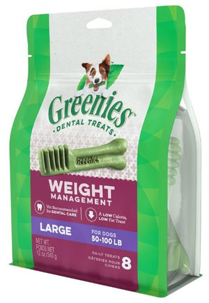 Greenies Large Weight Management Dental Dog Chews
