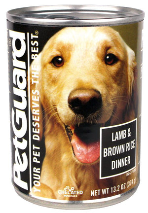 Petguard Lamb and Brown Rice Dinner Canned Adult Dog Food