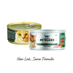 Petguard Fish, Chicken & Liver Dinner Canned Cat Food