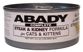 Steak and Kidney Cat Food