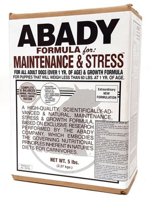 Maintenance and Stress Dog Food