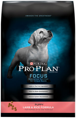 Purina Pro Plan Focus Puppy Lamb and Rice Formula Dry Dog Food