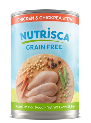 NUTRISCA Chicken and Chickpea Stew Canned Dog Food