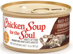 Chicken Soup For The Soul Grain Free Beef Stew with Red Skinned Potatoes and Carrots Canned Cat Food