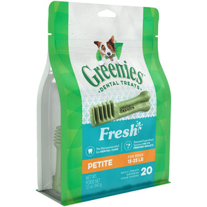 Greenies Fresh Petite Dental Dog Treats
