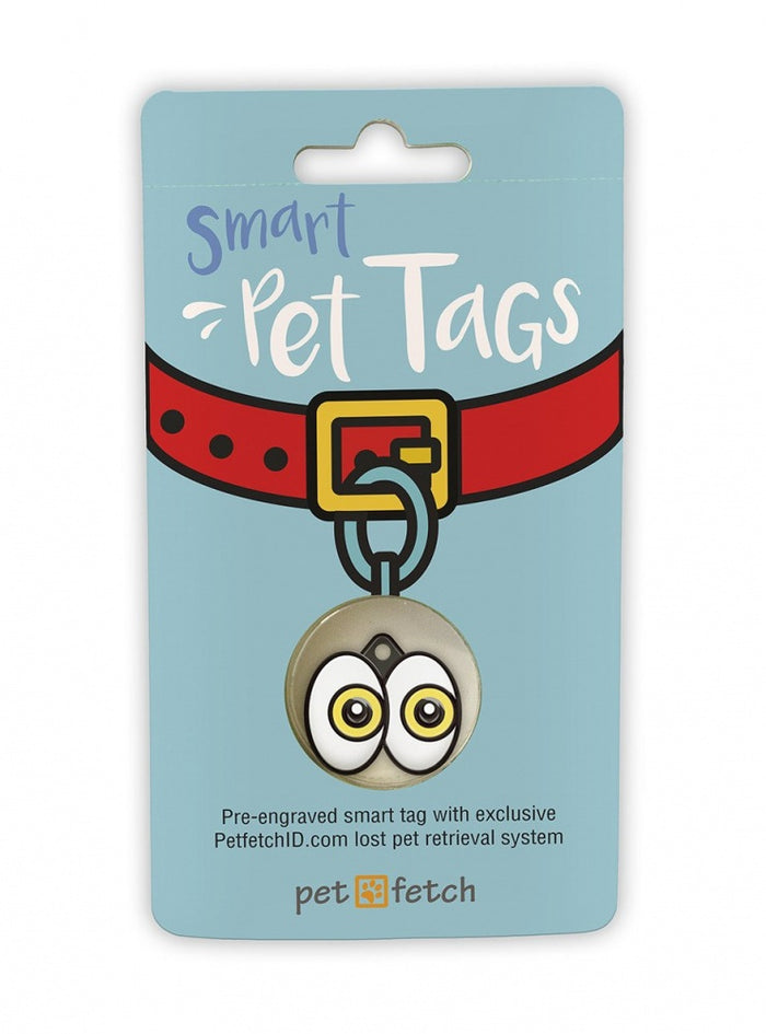 Pet Fetch I See You Emoji Smart Pet Tag