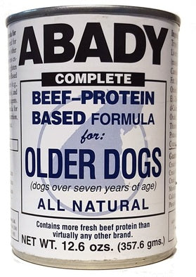 Beef-Protein Based Formula for Older Dogs Dog Food