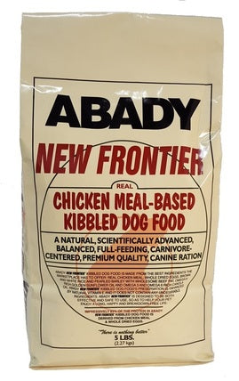 New Frontier Chicken Kibble Dog Food