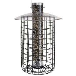 DROLL YANKEE BIRD FEEDER DOMED CAGE FEEDER B7