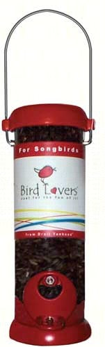 BIRD LOVERS BIRD FEEDER MIX SEED RED 8''