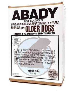 Maintenance and Stress for Older Dogs Dog Food