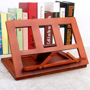 Sturdy Wooden Book Stand