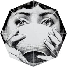 Load image into Gallery viewer, Playful Romantic Fornasetti Variations Umbrellas