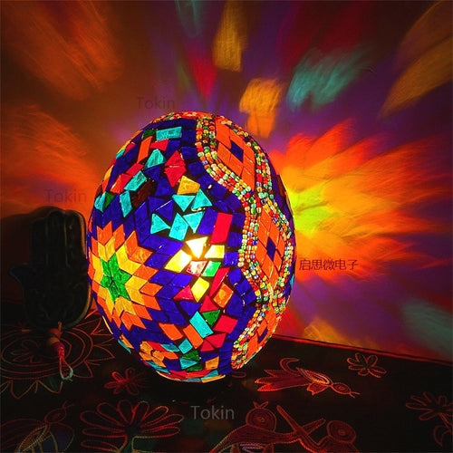 Turkish Style Mosaic Egg Lamps