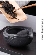 Load image into Gallery viewer, Dragon Bird Japanese Ceramic Travel Tea Set One Cup