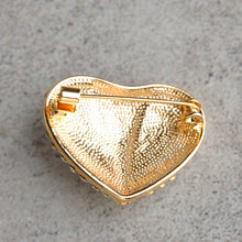 Load image into Gallery viewer, Unzip My Heart Crystal Brooch