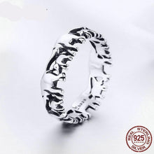 Load image into Gallery viewer, Mother Herd Elephant Family Ring Sterling Silver
