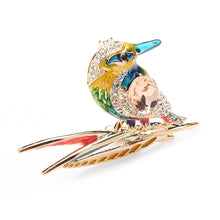 Load image into Gallery viewer, Kingfisher Crystal Rhinestone Brooches