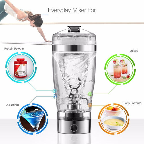 Portable Vortex USB Mixer 450ML DIY