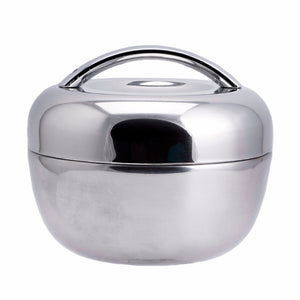 Apple Shape Thermal Stainless Steel Tiffin Lunch Box