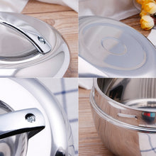 Load image into Gallery viewer, Apple Shape Thermal Stainless Steel Tiffin Lunch Box