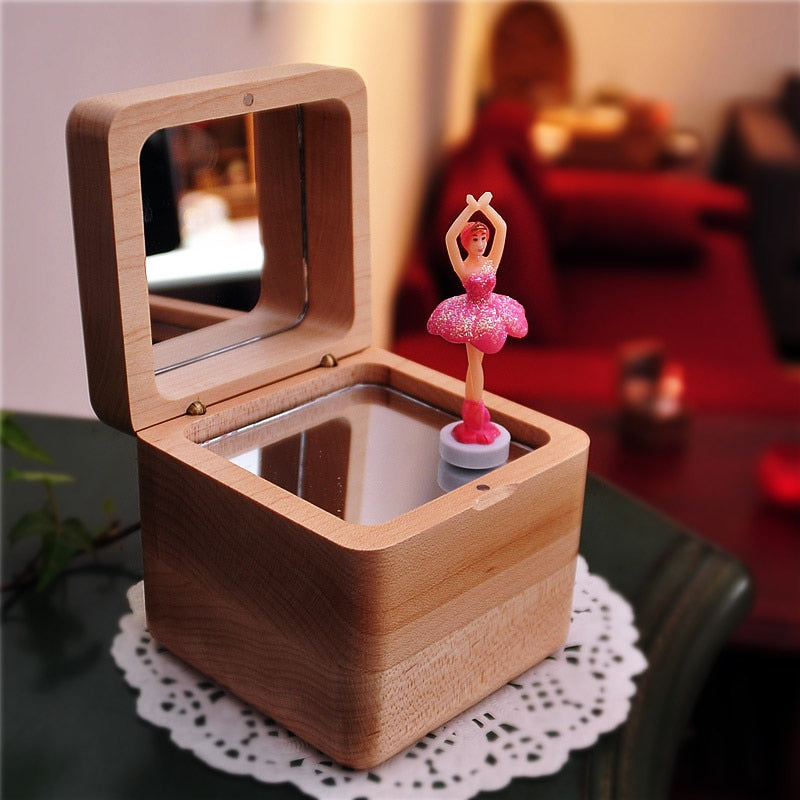 Tiny Dancer Clockwork Ballerina Music Box