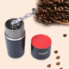 Load image into Gallery viewer, Travel Mug Pour Over Coffee Kit With Grinder