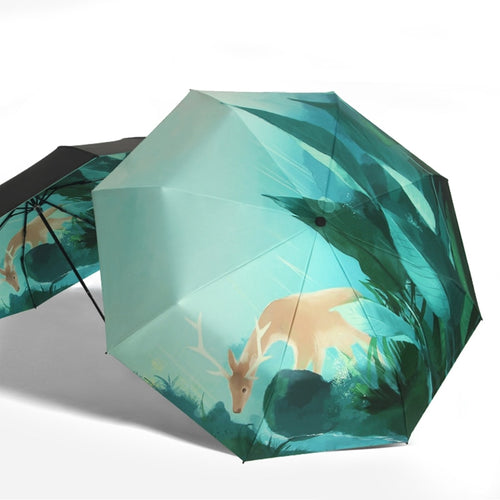 Forest Deer Umbrella